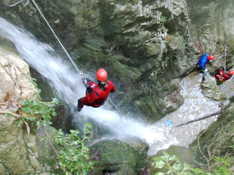 Canyonig_in_Umbria