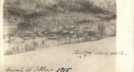 Nevicata 1915 ,Margno Valsassina