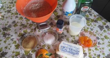 Ingredienti per l'agnello di pan brioche pasquale
